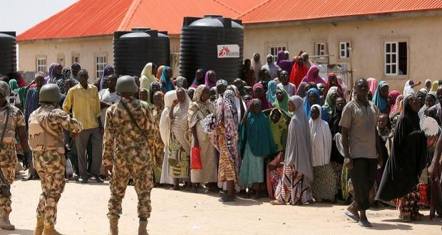 camps housing people displaced by Boko Haram militants