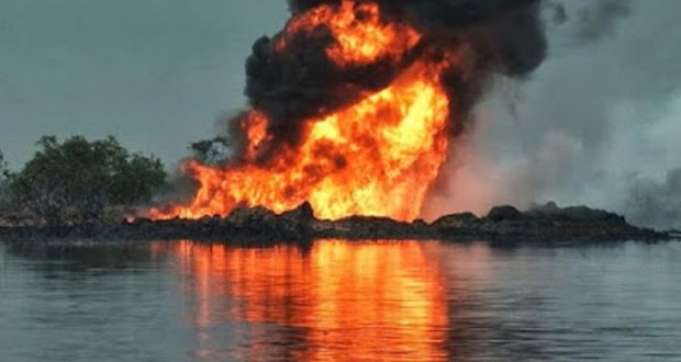 Fire erupts again in the Escravos-Lagos pipeline