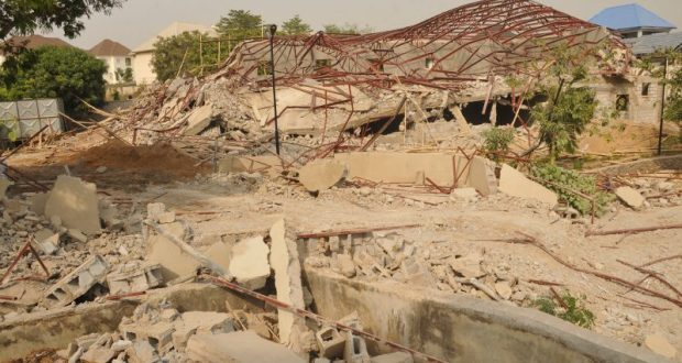 FCTA demolishes property belonging to Patience Jonathan in Abuja