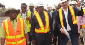 Dangote, Flour mills commences completion of Apapa-Wharf road project