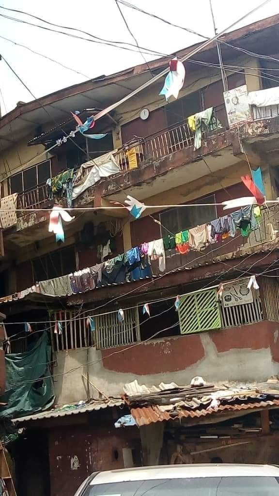 Over 1, 000 buildings in Lagos Island are unfit for human