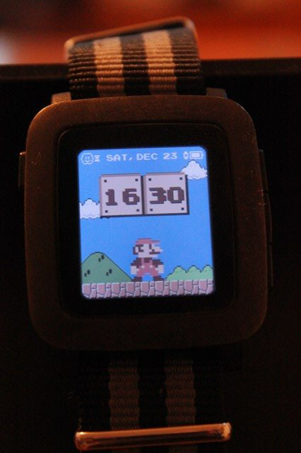 Pebble Time Watchface [GAME/ANIME編]