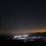 陣馬形山の夜<長野県>