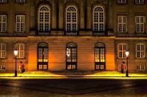 Copenhagen: Amalienborg Palace.