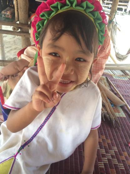 Young Karen girl
