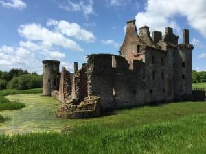 Caerlaverock Castle (c) ABR 2016