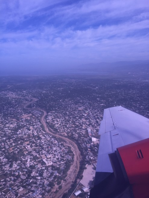 Port-au-Prince from the air (c) ABR 2016