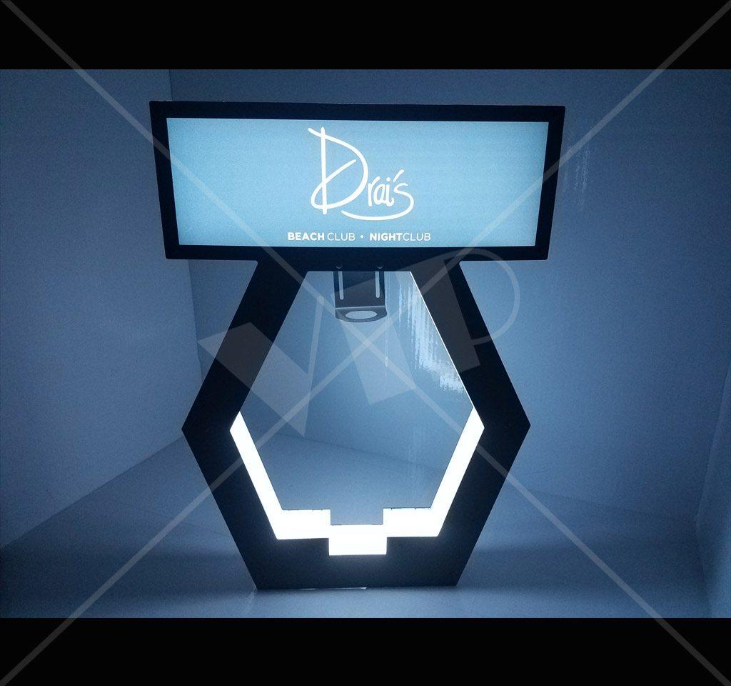 VIP LED Bottle Display Presenter  Night Club Supplies