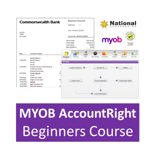 MYOB AccountRight Beginners Certificate Accounting Training Courses - Industry Accredited, Employer Endorsed - CTO
