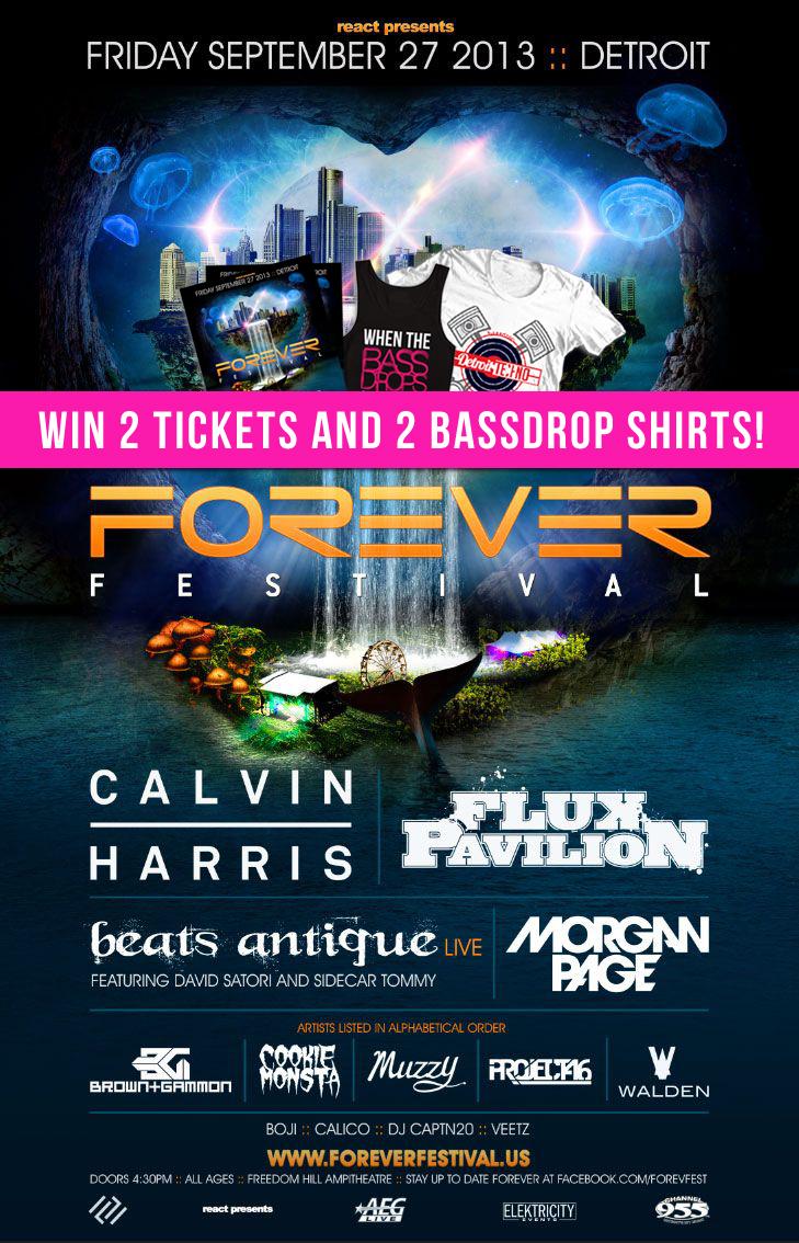 Forever Festival Detroit Giveaway