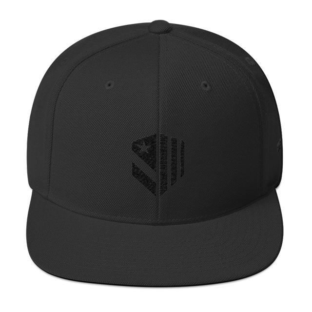 Nightenjin Shield Black Snapback