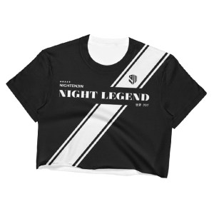 Night Legend Crop Top