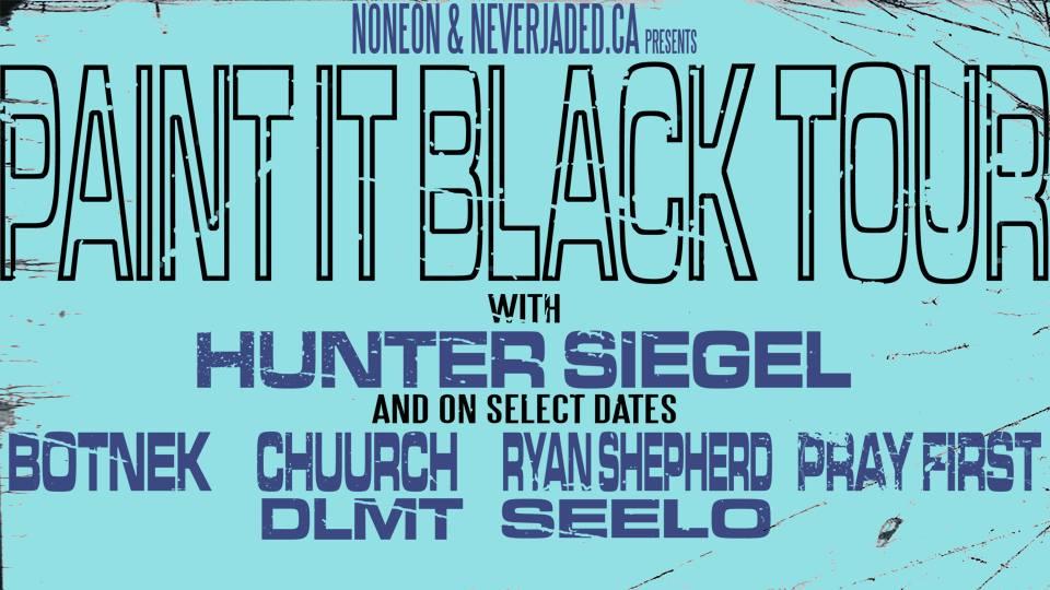 No Neon: Paint It Black Tour 2018
