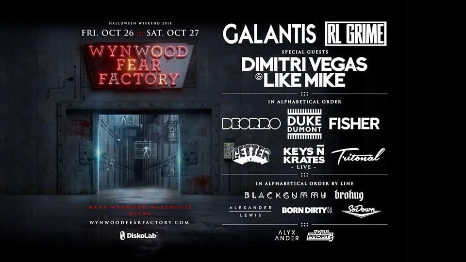 Wynwood Fear Factory 2018