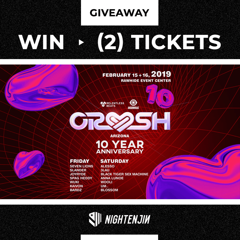 Crush Arizona 2019 Giveaway