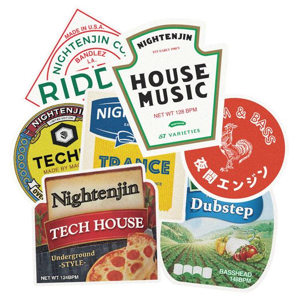 Placeholder Genre Condiments Stickers