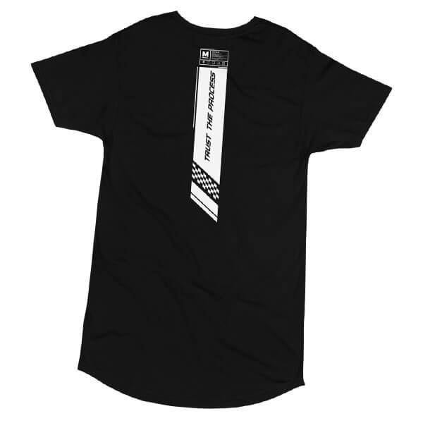 Trust The Process Drop Tail Long Tee
