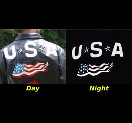 Night and Day reflective patches