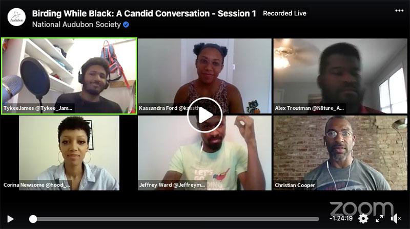 Black Birders Week discussion