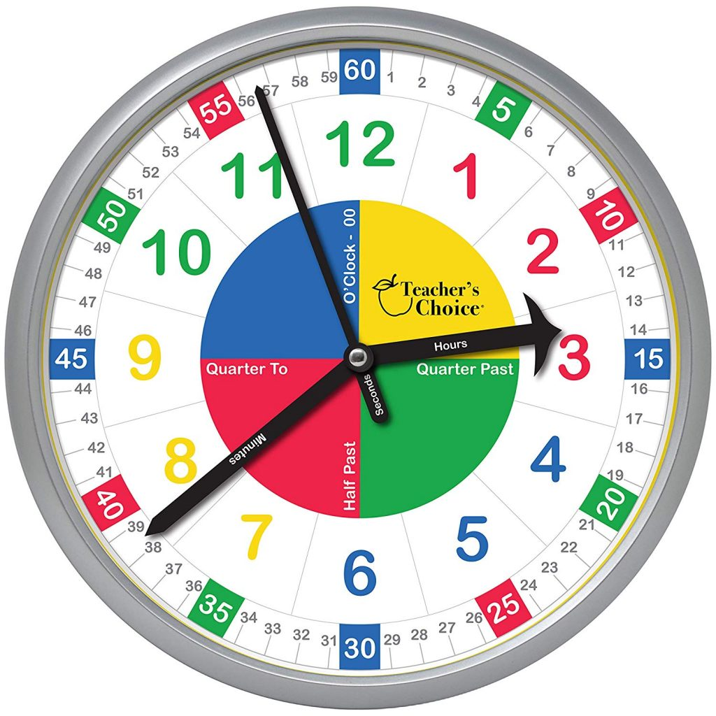 Time Is Ticking With The Easy To Learn Teaching Clock Backtoschool