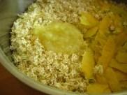 Stripped florets, lemon juice, and lemon zest.
