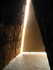 Chapel door from inside