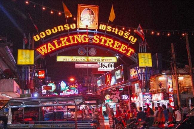 Pattaya Nightlife Walking Street
