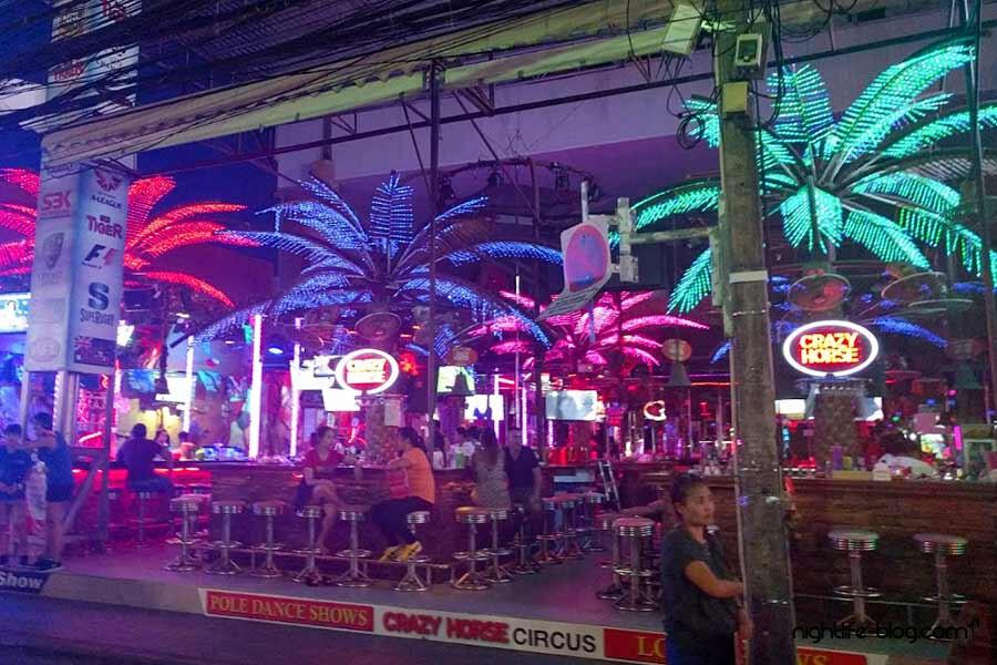 Phuket Nightlife Crazy-Horse Go-Go Bars Patong