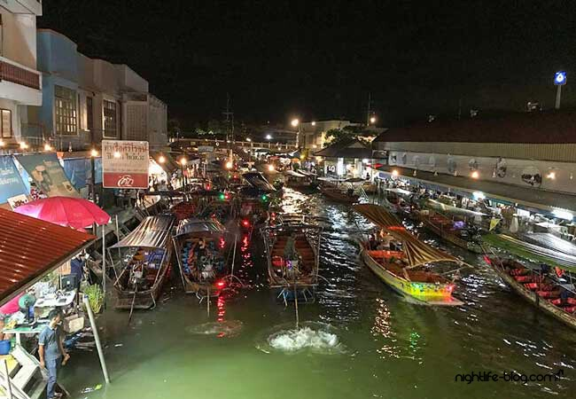 Bangkok Floating Market Amphawa