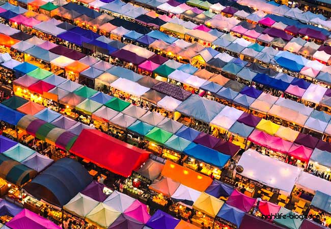 Night Market Bangkok – Floating und Abendmärkte
