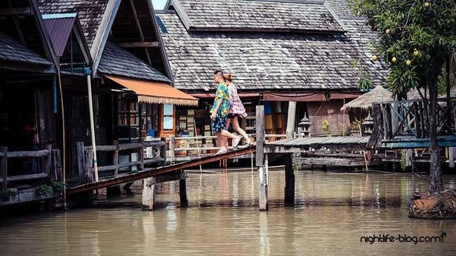 schwimmender Markt Pattaya Attraktionen