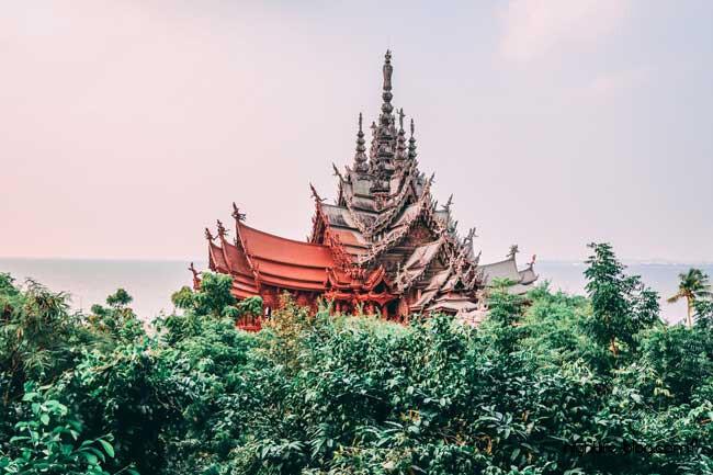 Holztempel Pattaya