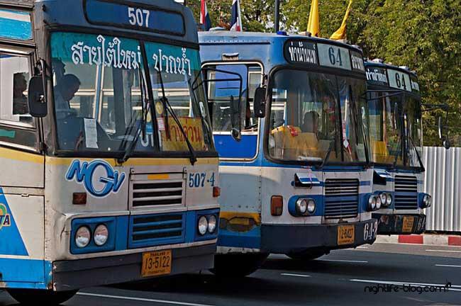 Rote Bus Linie Pattaya