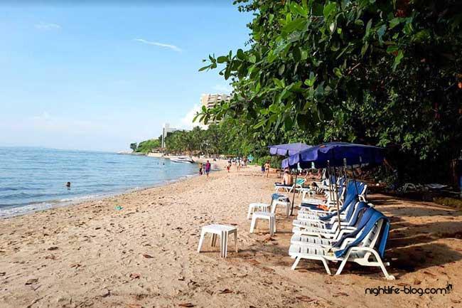 Strand in Pattaya
