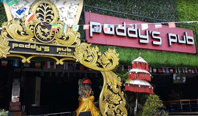 Paddys Pub Disco Club Kuta
