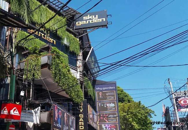 Sky Garden Night Club Bali