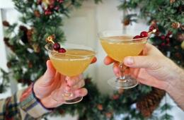 Sweet Christmas Cocktails Featured Image