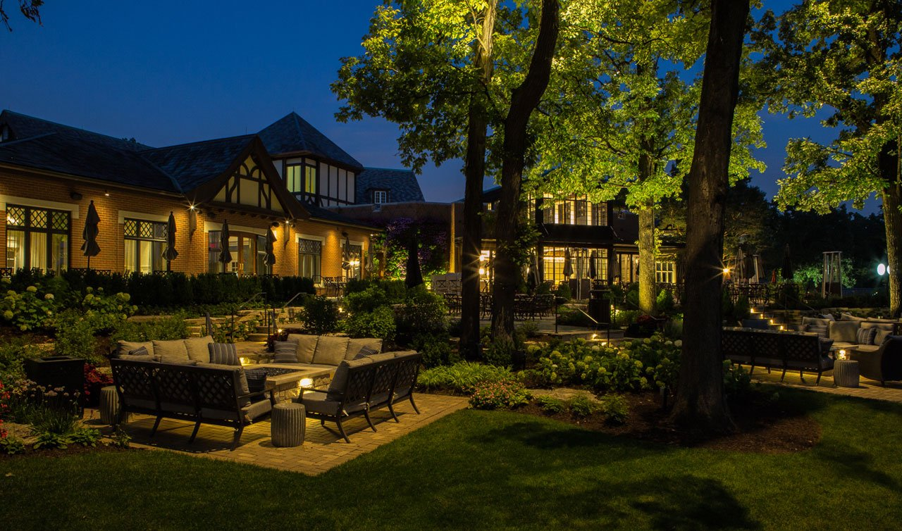 country club outdoor lighting guide
