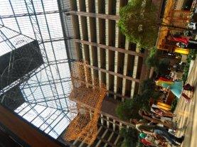 Hilton Anatole atrium.