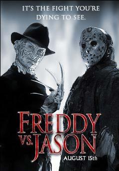 Freddy vs Jason  Movie Posters  Nightmare on Elm Street