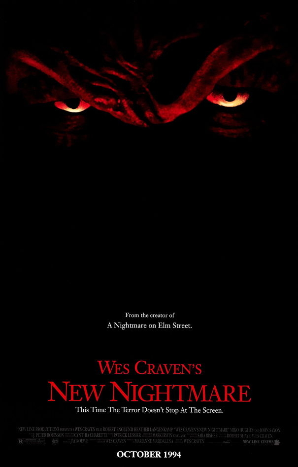 Image result for wes craven's new nightmare poster