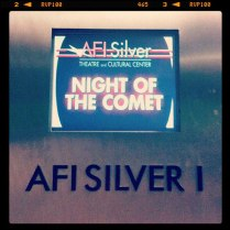 Cinema Screening AFI Silver, July 2012 © Kazahel (Instagram)