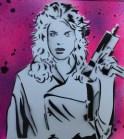 Stencil Art, © njodice810 2014