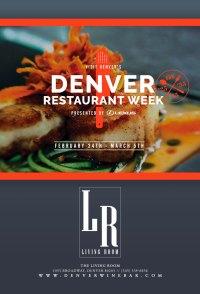 Denver Restaurant Week at The Living Room - The Living ...