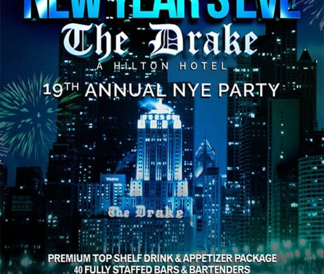 Chicago New Years Eve Celebration At The Drake Hotel
