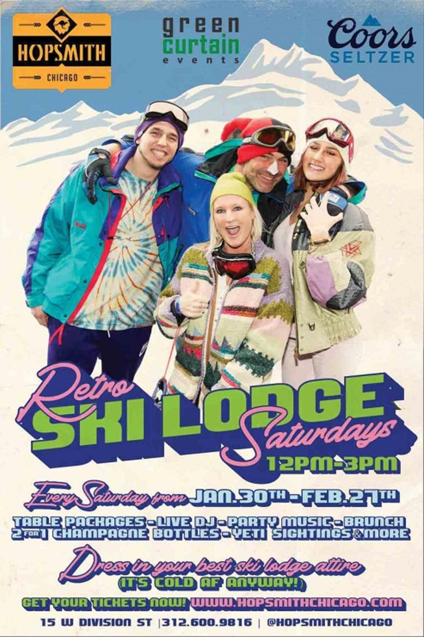 retro ski saturdays tickets