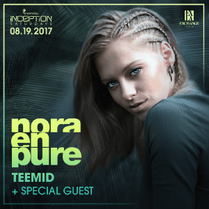 Nora En Pure at Exchange LA, August 19, 2017