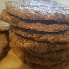 gluten-free oatmeal amaranth cookie