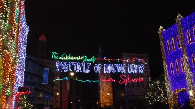 Osborne Spectacle of Dancing Lights - Hollywood Studios