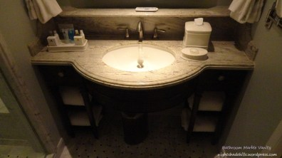 Bathroom Marble Vanity Sink - Grand Floridian Resort